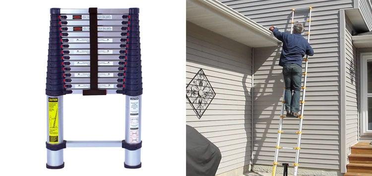 Best Overall- Xtend & Climb 785P Telescoping Ladder