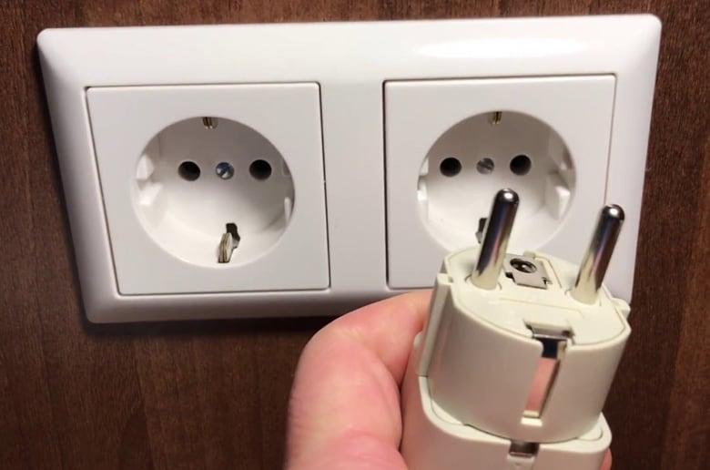 Necesitas una fuente de electricidad