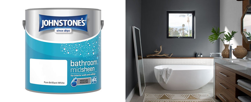Best Emulsion for Bathrooms-Johnstones Water Resistant Bathroom Emulsion