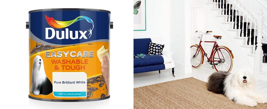 Best Ultra Tough-Dulux Easycare Washable Matt Emulsion